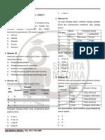 Soal Tambahan Biokimia - Paket 1