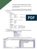 Modul 6 Membuat Database Perpustakaan Sederhana Menggunakan Ms