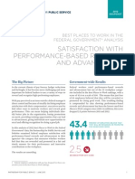 Best Places to Work Snapshot Satisfaction With Performance-Based Rewards and Advancement-[2013.06.19]