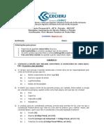 Gabarito Da AP2 de IDPP (2013.2)