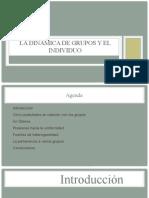 MDG - La dinámica de grupos y el individuo.pptx