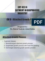 CH 9 - Attached Growth Process