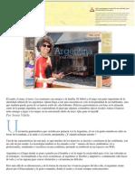 Argentina – Su Identidad y Sus Costumbres -Veinte Minutos - Transcricion Del Audio