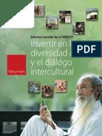 DiversidadCulteIntercultResumenUnesco10