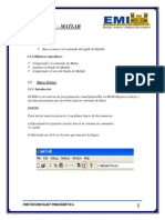 Inform de Guide de Matlab