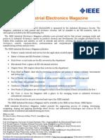 IEEE Industrial Electronics Magazine