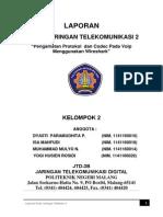 PRAKTIKUM JARINGAN TELEKOM 2_Pengamatan Protokol Dan Codec Pada Voip Menggunakan Wireshark