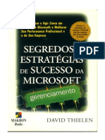 Segredos e Estratégias de Sucesso Da Microsoft