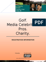 Golf Tournament_1 Sheet Registration_nov 2009
