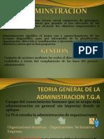 1procesos de La Gestion Administrativa Diapositivas