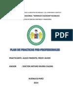 Plan de Practicas Pre Javier Monino