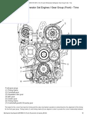 caterpillar c15 engine diagram engines   generator sets  c13  c15  and c18 generator set engines  c13  c15  and c18 generator set engines