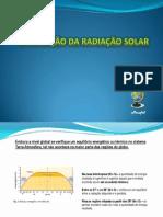 A Variação da Radiação Solar