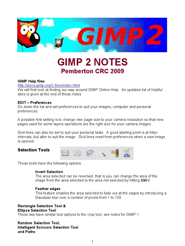 Gimp Notes 2 | Rgb Color Model | Color Balance