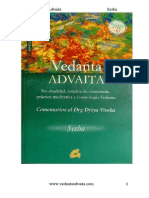 Advaita Vedanta - November 2011