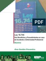 Beneficiosdelaley_alumno Ley 16744