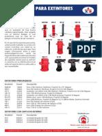 13 Sujetadores Para Extintores