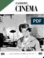 Cahiers Du Cinema 105