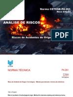 Análise de Riscos - Norma CETESB P4.261 (Nova Edição)