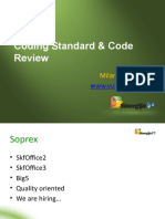 Sinergija 2009 - Coding Standard and Code Review