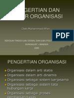 Pengertian Dan Unsur Organisasi