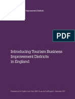 Introduction of Tourism Business DIstrict