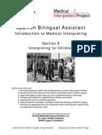 Interpreting for Children