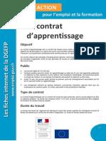 Fiche Contrat Apprentissage