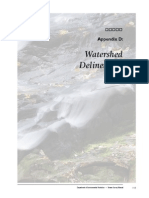 Maine AppD Watershed-Delineate