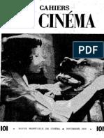 Cahiers Du Cinema 101