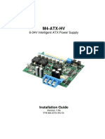 Pwr m4 Atx Hv Manual