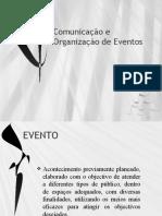 Comunicação e Organização de Eventos