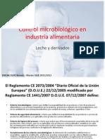Le contrôle microbiologique des produits laitiers (langue