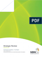 NBN Co Strategic Review Report