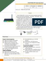 f2464 Wcdma Rtu Technical Specification