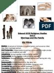 Revision Unit 3 Marriage & Family Life - IGCSE Religious studies