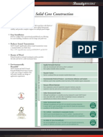 Masonite Green Brochure