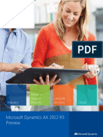 Microsoft Dynamics AX 2012 R3 Preview Final English 040914
