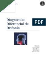 Diagnóstico Diferencial de Disfonía-1