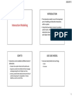 Interaction Modeling