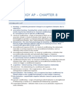 Psychology AP – Chapter 8