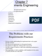 Pressman Ch 7 Requirements Engineering