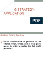 Pricing Strategy WMP
