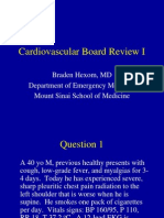 Cardiology Board Review I