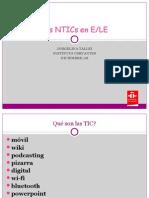 Las NTICs en E