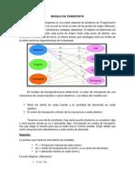 Investigacion de operaciones TRANSPORTE Y REDES