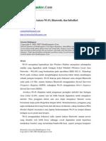 Perbandingan Wifi Bluetooth Infrared