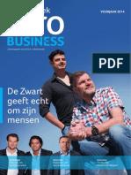 Bollenstreek IntoBusiness cover met De Zwart Facilitaire Diensten Lisse, Cheers Voorhout en Maatwerk Arbeidsadvies Sassenheim