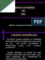 Expo--CE en ORL