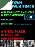 Jeff Speck walkability study results